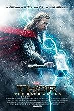 "Posters USA Marvel Thor The Dark World Movie Poster GLOSSY FINISH - FIL304 (24"" x 36"" (61cm x 91.5cm))"