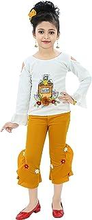 Chandrika Girls Capri Top Casual Set for Kids