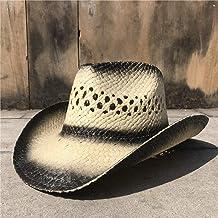 Cjd6144-Brn-O Cody James Mens Shaggy Straw Cowboy Hat