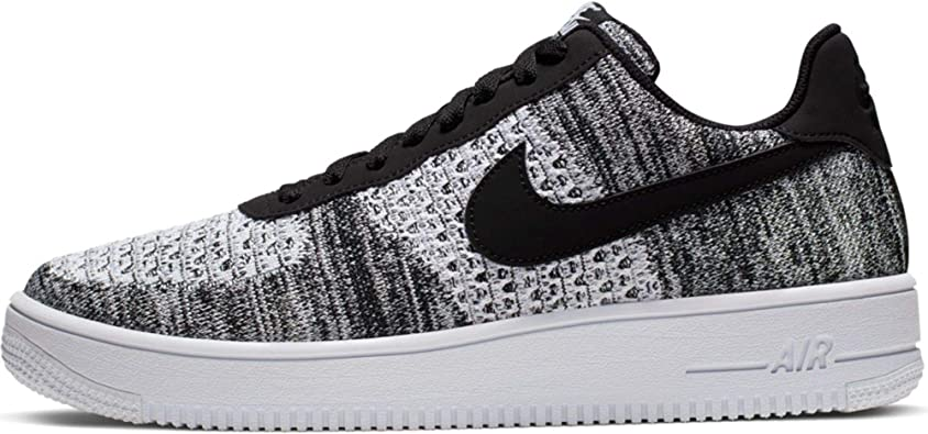 Amazon.com | Nike Air Force 1 Flyknit 2.0 Mens Sneakers AV3042-001 ...
