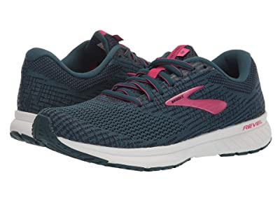 Brooks Revel 3 (Blue/Navy/Beetroot) Women