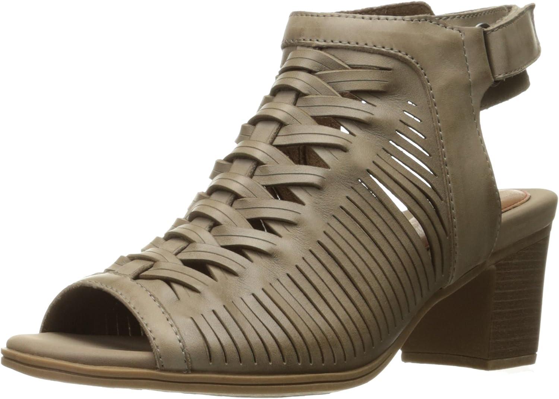 Rockport Womens Hattie Braid Sling Heeled Sandal