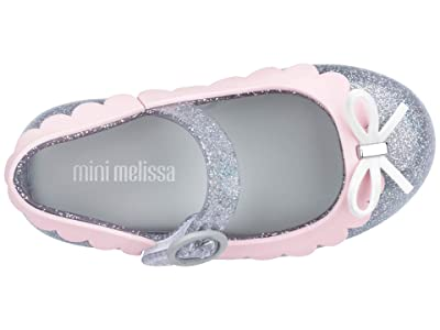 Mini Melissa Sweet Love II BB (Toddler/Little Kid) (Silver Glitter) Girl