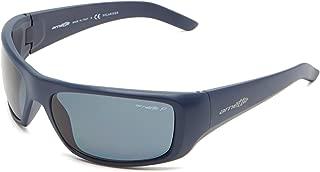 Arnette Hot Shot AN4182 219581 Matte Navy Blue/Grey Polarised Men's Sunglasses