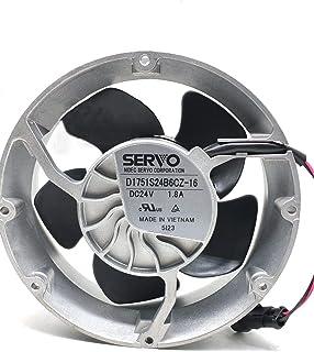 D1751S24B6CZ-16 SERVO 24V 172mm Fan - 1.8A 43.2W 95DB 17251 2-Wire ABB Inverter Cooling Fan