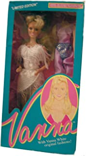 Vanna White Doll #007 Limited Edition From HSN Home Shopping Club 1990