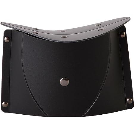 SOLCION 折りたたみ式 正座イス パタット セイザ 黒 SE001