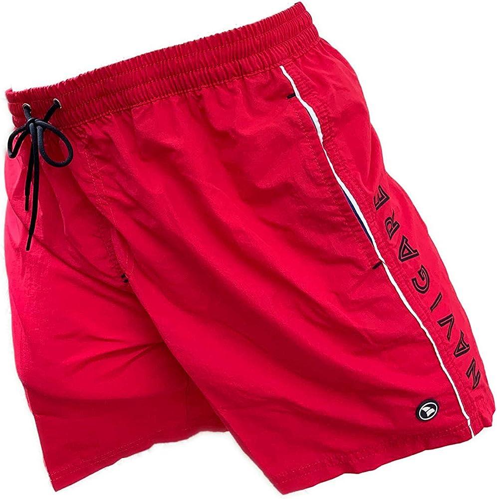 Navigare costume da bagno a pantaloncini da uomo 100% poliestere 098370