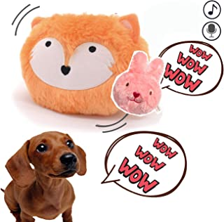 Talking Dog Toy Interactive Doggie Christmas Music Ball Bouncing Auto ON/Off Attractive Fun Play Value Doggie Interaction Toy - Best Gift for Puppy