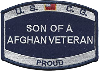 Coast Guard Son Of A Afghanistan Veteran Patch