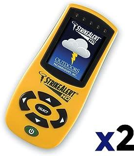 StrikeAlert LD3000 HD Personal Lightning Detector (2 Pack)