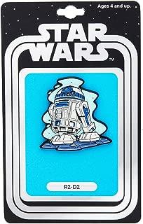 Official Star Wars R2-D2 Pin | Exclusive Art Design by Derek Laufman | Star Wars Series Collectors Pins Blue