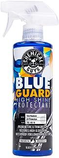 Guys Chemical TVD_103_16 Blue Guard II Wet Look Premium با اسپری بالا و براق کننده و براق کننده لاستیک و پلاستیک (16 اونس)