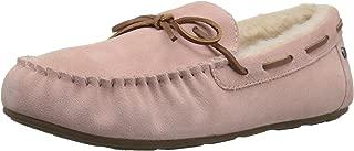 Amazon Brand - 206 Collective Women's Pearson Shearling Moccasin Slipper