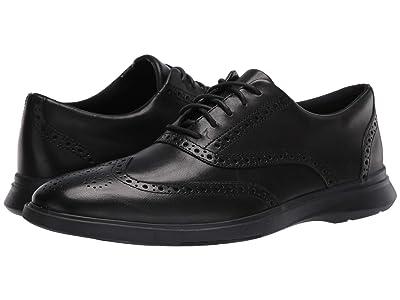 Clarks Un Lipari Ave (Black Leather) Men