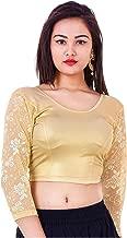 Best golden blouse indian Reviews