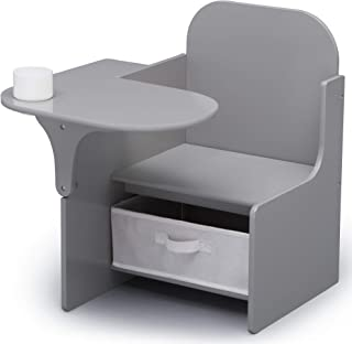 Delta Children Chair Desk With Storage Bin, MySize, Grey