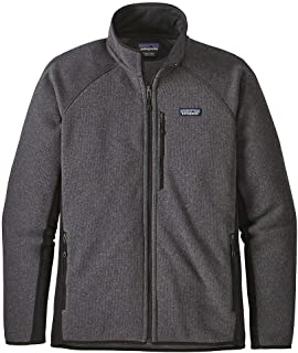 Performance Better Sweater Jacket (Forge Grey W/Black)
