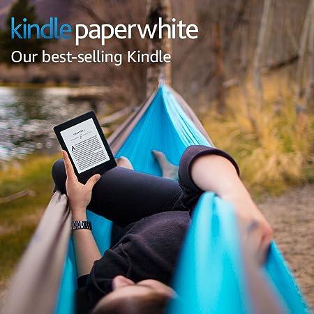 Kindle Paperwhite E-reader (Previous Generation - 7th) - Black, 6