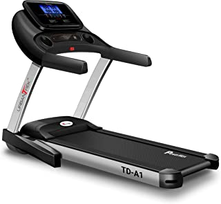 PowerMax Fitness Urban Trek TD-A1 4.0HP Peak Pre-Installed Motorized Treadmill with Android and iOS App