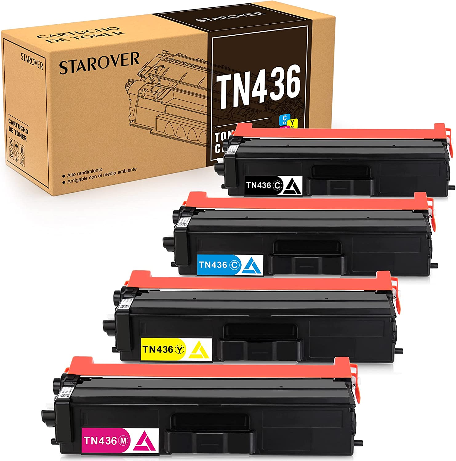 STAROVER Compatible Toner ランキング総合1位 百貨店 Cartridge Replacement Brother for TN43