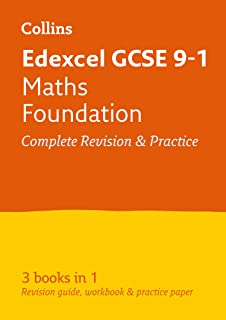 Edexcel GCSE 9-1 Maths Foundation All-in-One Complete Revision and Practice: Ideal for Home Learning, 2021 Assessments and...
