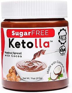 Keto Factory Cocoa Hazelnut Spread, 11 Oz Jar | All Natural Keto Friendly Healthy Snack, Vegan, Sugar-Free, Soy-Free, Glut...