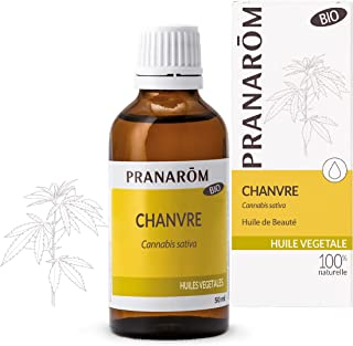 Pranarôm |Huile Végétale de Chanvre Bio (Eco)|Naturellement Nourrissante|50 ml