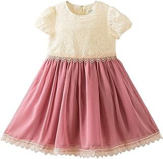 (キャサリンコテージ) Catherine Cottage 子供ドレス レーストップスシフォンワンピース