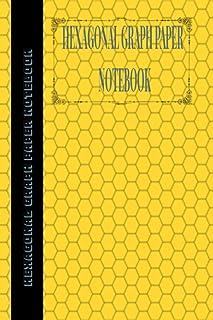 Hexagonal Graph Paper Notebook: 1 Inch Hexagons, 100 Sheets: Hexagonal Notebook not EBook HEX Graph Paper For Sketches, Ga...