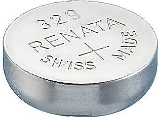 One (1) x Renata 329Sr721sw Oxyde d'argent Piles pour Montre 1,55V