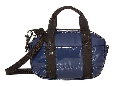 LeSportsac Amanda Micro Mini Crossbody (Navy Patent) Handbags