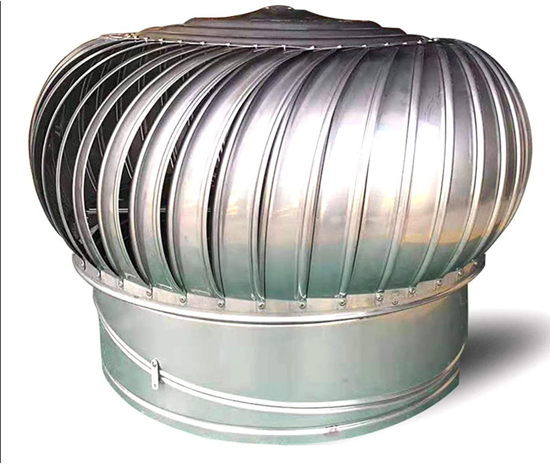 LTLWSH Sombrero Extractor de Humos Inoxidable Sombrero Extractor para Estufa Giratorio para Tubo, Caperuza De Salida de Humos Giratoria, Base Redonda,100mm