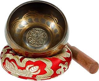 Rovtop Cuenco Tibetano a Mano para la Meditación Chakra Healing, Oración, Yoga, Budismo y Sanación a través de la Vibració...
