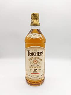 "Teacher""s Royal Highland Whisky 1980-1990s 1l"
