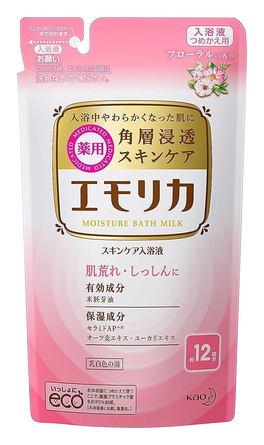 偉業人質窓を洗う【花王】エモリカ フローラルの香り つめかえ用 360ml ×5個セット