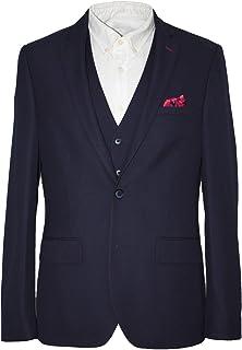 HARRY BROWN Dandy 3 Piece Slim Fit Suit in Navy