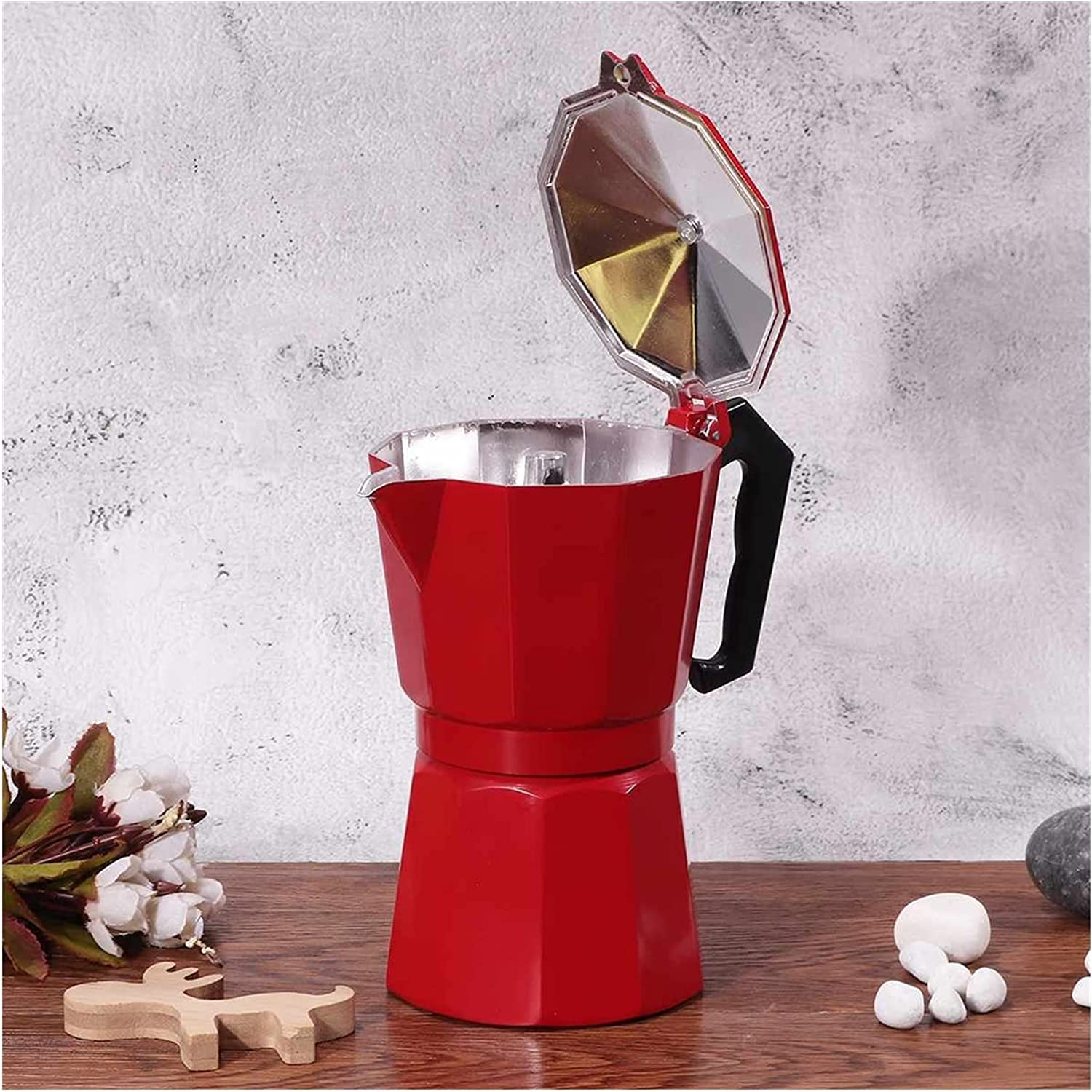 Coffee Maker Aluminum Max 72% OFF Durable Los Angeles Mall Ital Cafeteira Mocha
