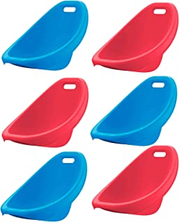 American Plastic Toys Scoop Rocker (Pack of 6) Kids Childrens Chairs