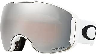 Oakley Airbrake XL Snow Goggles Polished White W/PRIZM Black and PRIZM Hi-Pink Lens