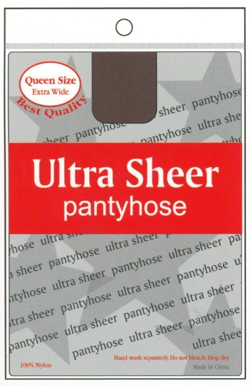Annie Ultra Sheer Pantyhose - Queen Size (6PC)