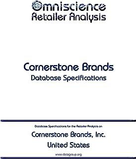 Cornerstone Brands, Inc. - United States: Retailer Analysis Database Specifications (Omniscience Retailer Analysis - United States Book 23879) (English Edition)