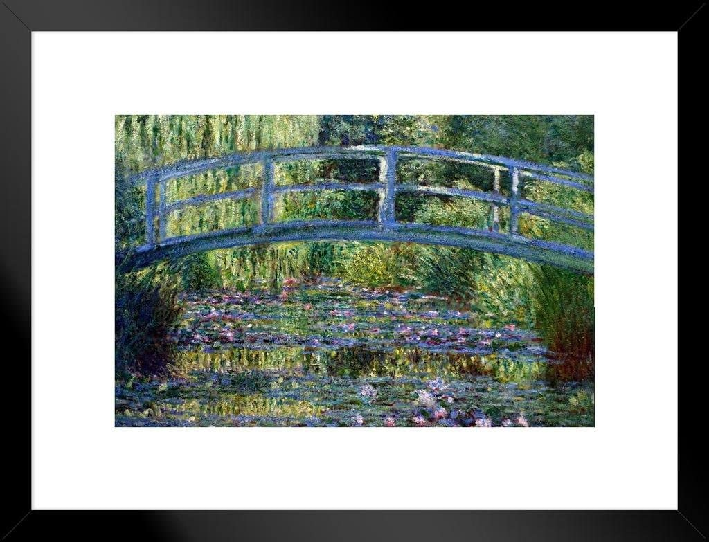 Le Pont Japonais a Giverny by 5% OFF Claude Monet Free Shipping Cheap Bargain Gift Fine Impressionist Ar