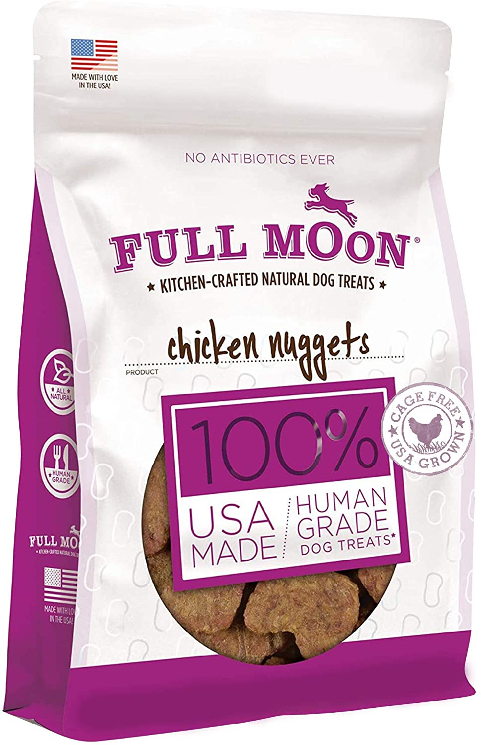 Full Moon All Natural Ranking TOP12 Human Dog Nugget Recommended Grade Chicken Treats