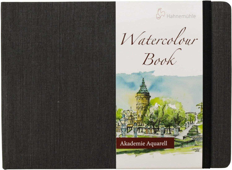 Hahnem/ühle Agave Watercolour 290 g//m/² Cartoncino per acquerelli grano fine formato A4 21 x 29,7 cm 12 fogli