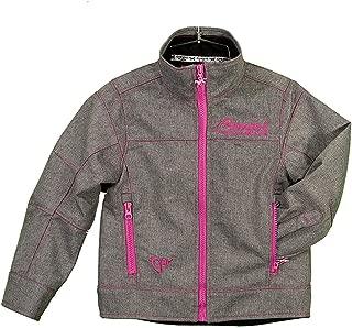 Cowgirl Hardware Girls Heather Grey Tech Jacket - 491172-034