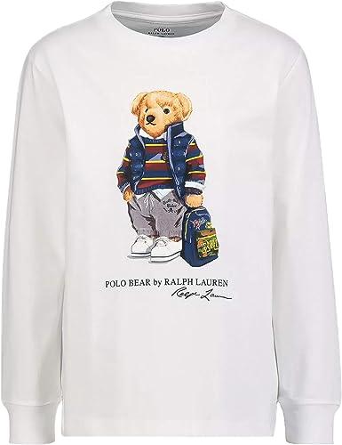 Polo Ralph Lauren - Camiseta Manga Larga Oso NIÑO ...