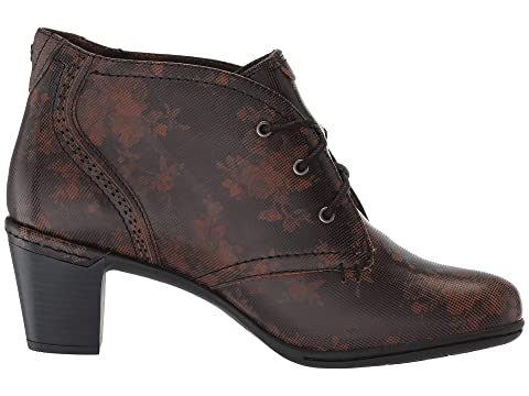 Rockport Negro Cobb Rashel Florales Leatherbrown Colección Chukker Colina HpwSRrHq
