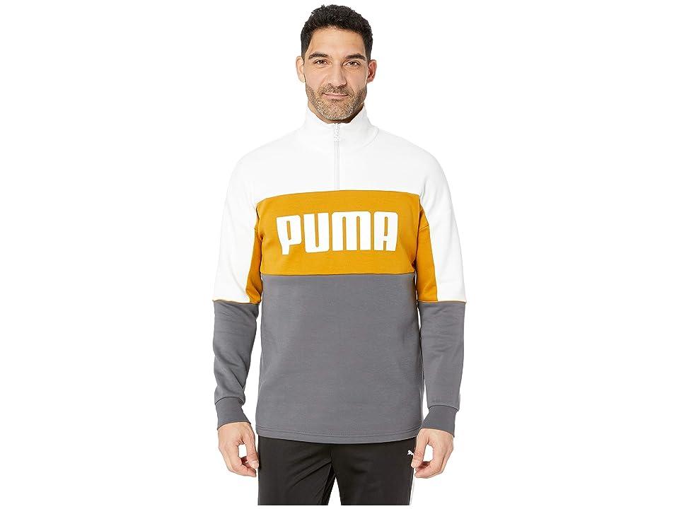 PUMA Retro Crew Turtle Rib Neck (Iron Gate) Men
