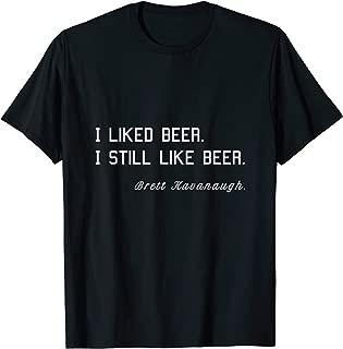 Best kavanaugh shirt i like beer Reviews